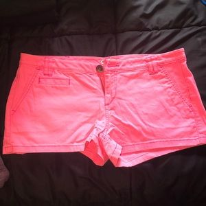 Express Hot Pink Short Shorts